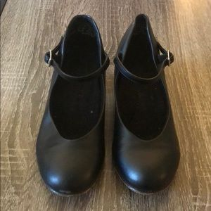 Other - Black Jazz Shoes Size 3